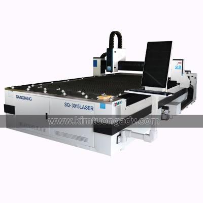 Máy Cắt Fiber 3015 - Chuyên Cắt Sắt, Thép, Inox, Tôn,.