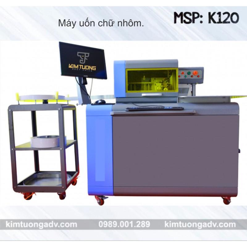 Máy Uốn Chữ  Nhôm - Inox K120