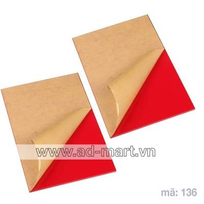 Tấm Mica Màu Đỏ