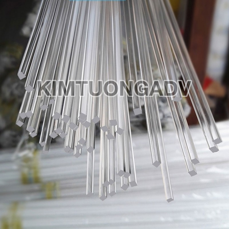Thanh Nẹp Mica Vuông 2 mm