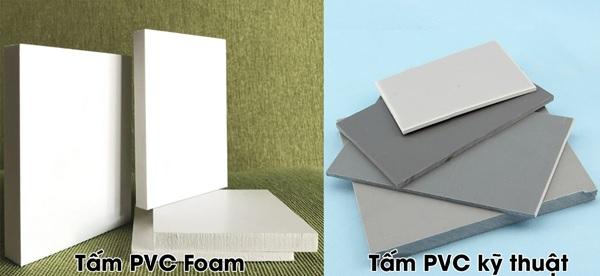 Tấm PVC Foam và tấm PVC kỹ thuật khác nhau như thế nào? Dựa trên những đặc điểm nào để phân biệt?