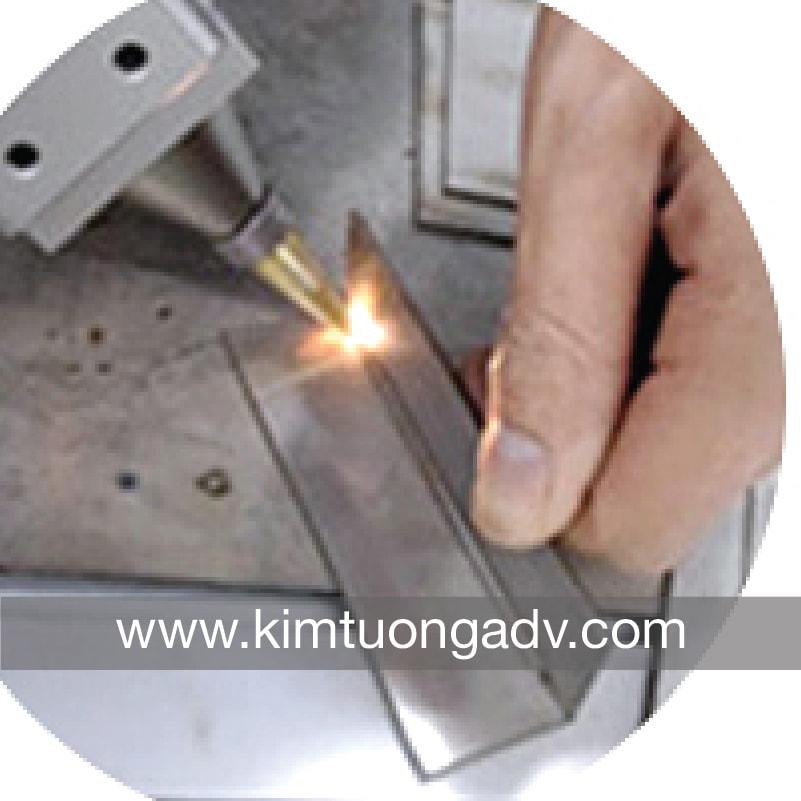 Máy Hàn Laser - Chuyên Hàn Chân Chữ Kim Loại - Hàn Chữ Inox