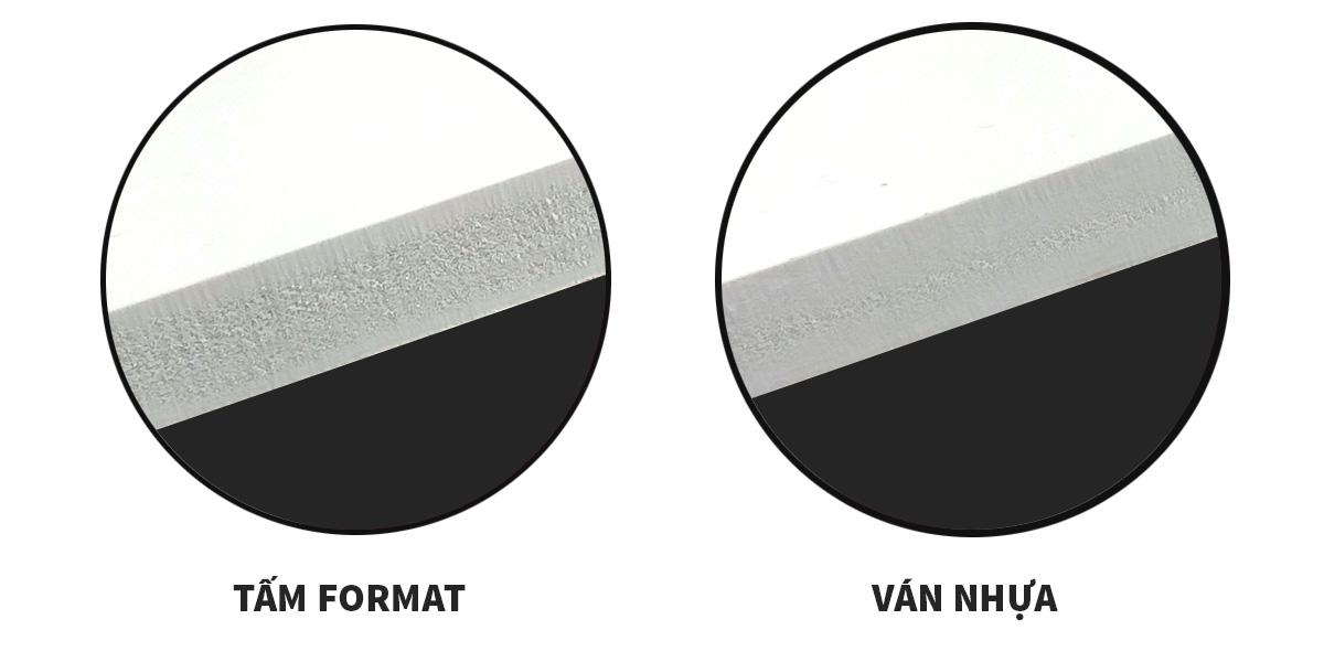 Tấm Formet - Tấm ván nhựa pvc