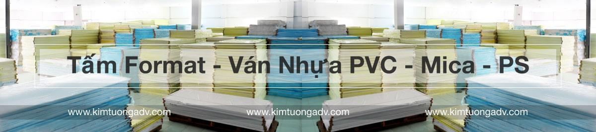 Kim Tưởng chuyên phân phối format ván nhựa PVC giá rẻ tại HCM